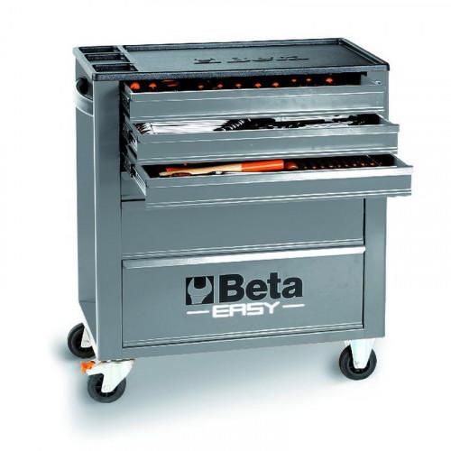 Wózek narzędziowy bez wyposażenia Beta Easy z 6 szufladami Beta 2400/C24E6G