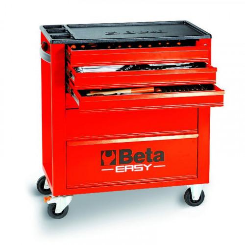 Wózek narzędziowy bez wyposażenia Beta Easy z 6 szufladami Beta 2400/C24E6R