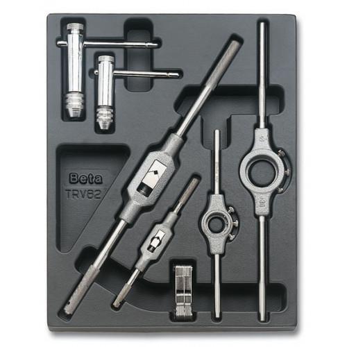 Zestaw 7 narzędzi we wkładce z tworzywa Beta 2424/T273
