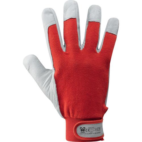 Rękawice zimowe Ball Winter z owczej skóru licowej i bawełny MAC-TUK 316035