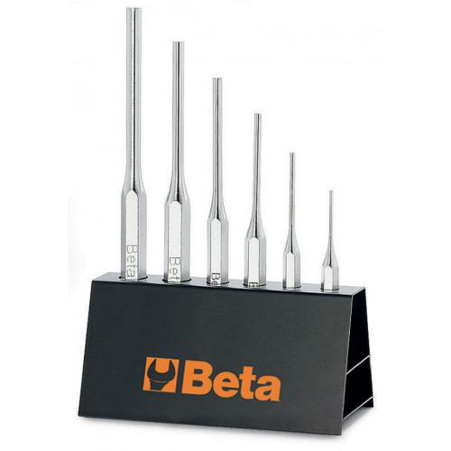 Komplet 6 wybijaków Beta 31/SP6 - rozmiary: 2-8mm