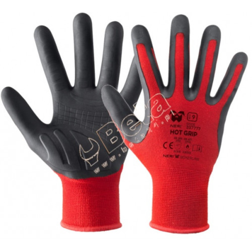 Bezszwowe rękawice HOT GRIP nylonowo- elastanowe Boxer 337777