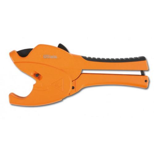Nożyce z mechanizmem zapadkowym do rur z PCW wykonane ze stopu magnezu  Beta 342P - Fi: 0÷50 mm