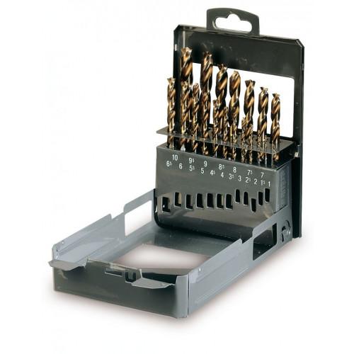 Komplet 19 wierteł ze specjalnie szlifowaną częścią roboczą Beta 416/SP19 - Ø 1÷10 x 0.5mm