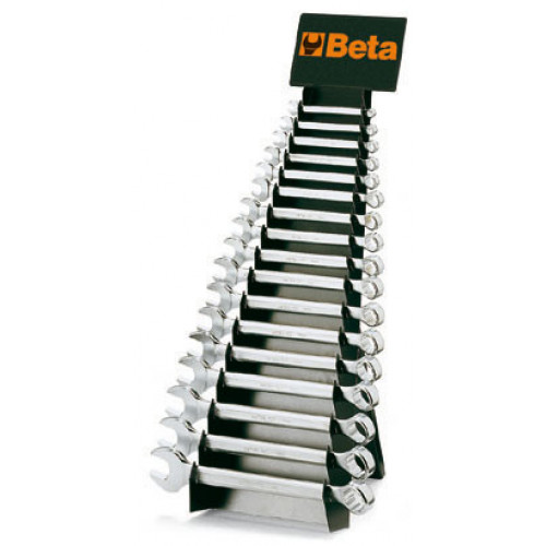 Komplet 25 kluczy płasko-oczkowych Beta 42/SP25 - rozmiary: 6-32mm