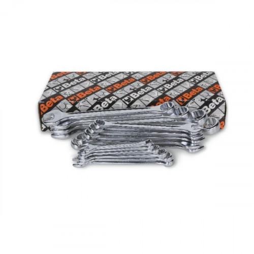 Komplet 15 kluczy płasko-oczkowych Beta 42NEW/S15 - rozmiary: 6-32mm