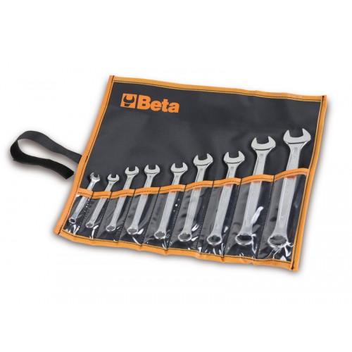 Komplet 9 kluczy płasko-oczkowych Beta 42NEW/B9 - rozmiary: 6-19mm