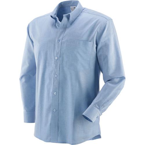 Koszula z długimi rękawami jasnoniebieska Greenbay 431012