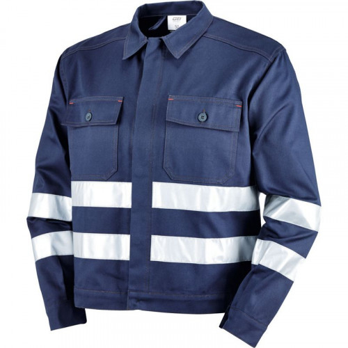 Bluza robocza granatowa z el. odblaskowymi Greenbay 435255