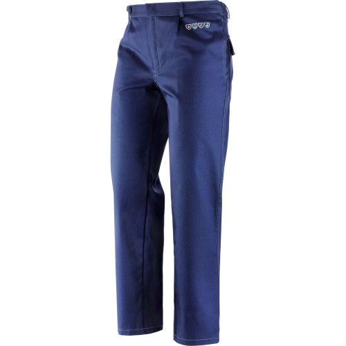 Spodnie robocze Pantalone Pentavalente trudnopalne, kwasoodporne, antyelektrostatyczne Greenbay 436372