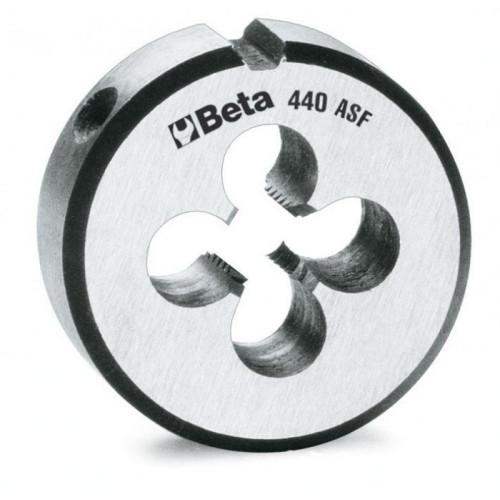 Narzynka okrągła ze stali chromowanej z gwintem UNF Beta 440ASF