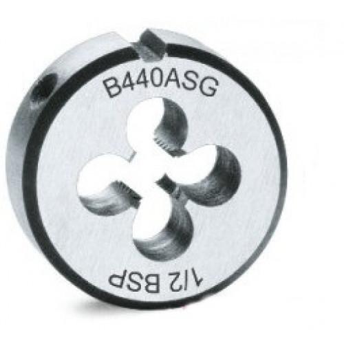 Narzynka okrągła ze stali chromowanej z gwintem walcowym GAS Beta 440ASG