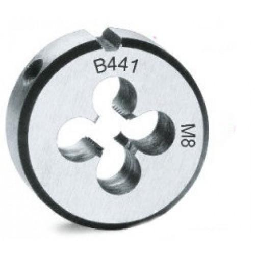 Narzynki okrągłe ze stali chromowanej z gwintem metrycznym drobnozwojnym Beta 441