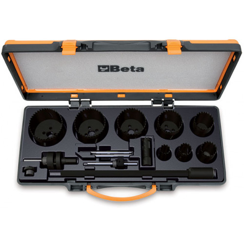 Zestaw 15 pił otworowych dla elektryków Beta 450/C15
