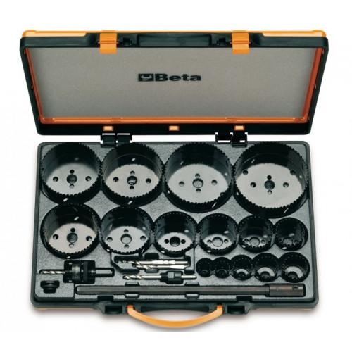 Zestaw pił otworowych z akcesoriami do użytku w przemyśle Beta 450/C21