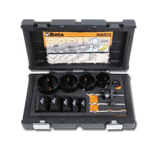 Zestaw pił otworowych dla hydraulików Beta 450/C13