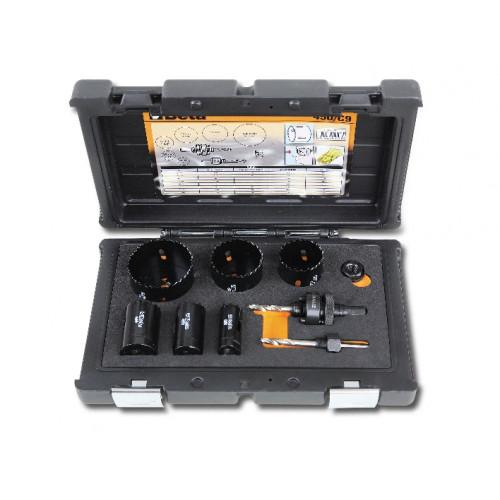 Zestaw pił otworowych dla elektryków Beta 450/C9