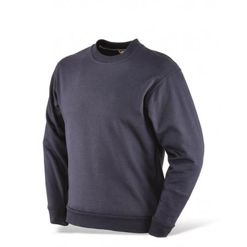Granatowa bluza z okrągłym dekoltem Greenbay 455010