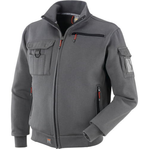 Bluza Brez Multipocket szara Greenbay 455081