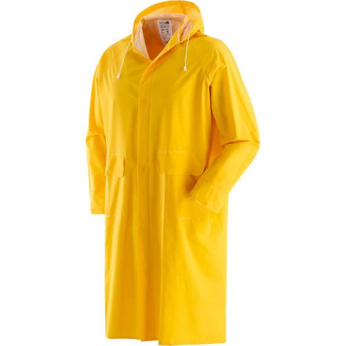 Płaszcz przeciwdeszczowy długi żółty Greenbay 462050/XXL