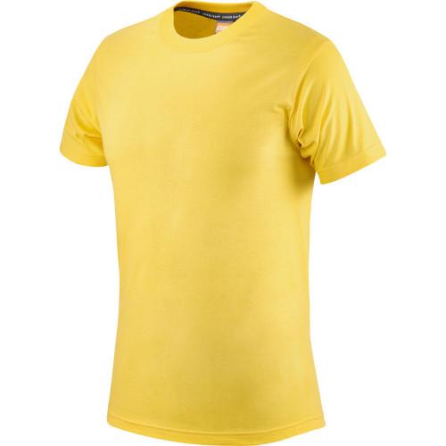 T-shirt żółty bawełniany Greenbay 471004