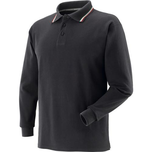 Koszulka polo z długimi rękawami czarna Greenbay 471058