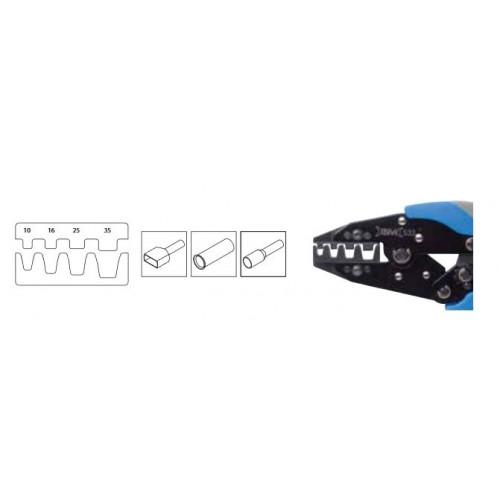 Szczypce automatyczne do zaciskania końcówek tulejkowych od 10 do 35mm2 BM Group 533