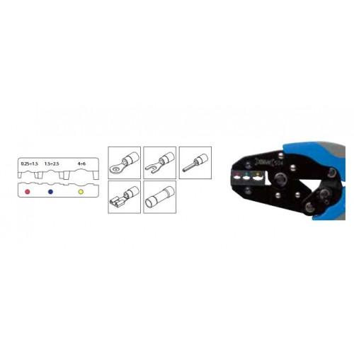 Szczypce automatyczne do zaciskania końcówek od 0.25 do 6mm2 BM Group 534