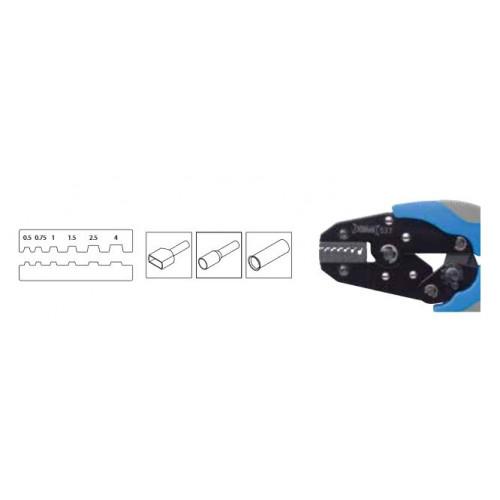 Szczypce automatyczne do zaciskania końcówek od 0.5 do 4mm2 BM Group 537