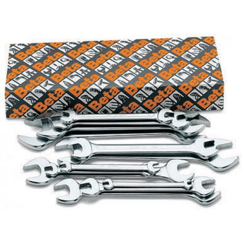 Komplet 12 kluczy płaskich dwustronnych Beta 55/S12 - rozmiar: 6-32mm