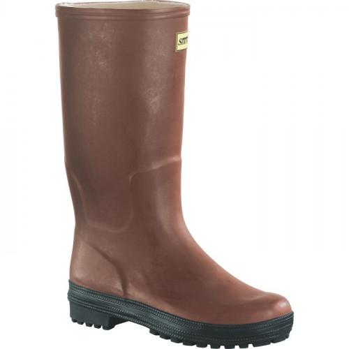 Buty wysokie gumowe brązowe SKL 575031