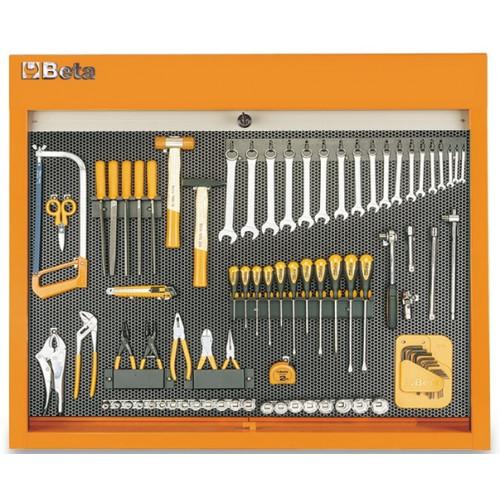 Tablica narzędziowa z zestawem 86 narzędzi Beta 5800P-O
