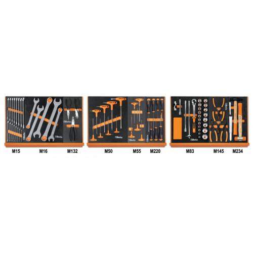 Zestaw 76 narzędzi do obsługi pojazdów Beta 5904VG/1M