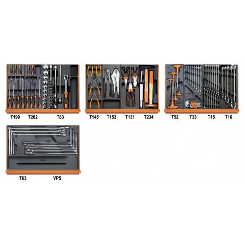 Zestaw 102 narzędzi do obsługi pojazdów Beta 5904VG/3T