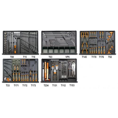 Zestaw 153 narzędzi do obsługi pojazdów Beta 5904VG/5T