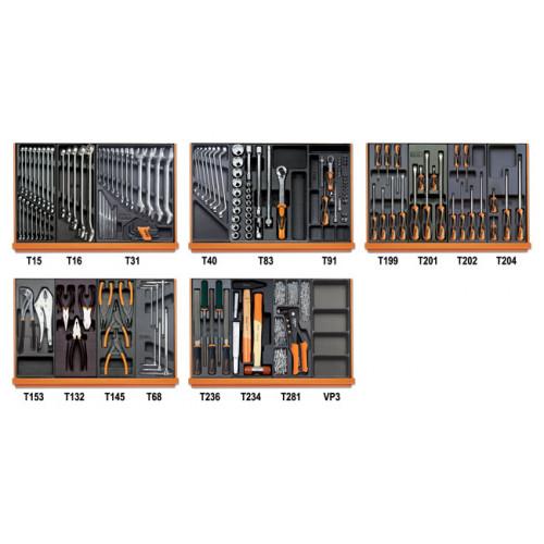 Zestaw 151 narzędzi do użytku przemysłowego Beta 5904VI/2T