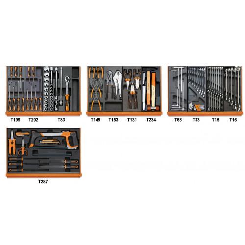 Zestaw 104 narzędzi do użytku uniwersalnego Beta 5904VU/2T
