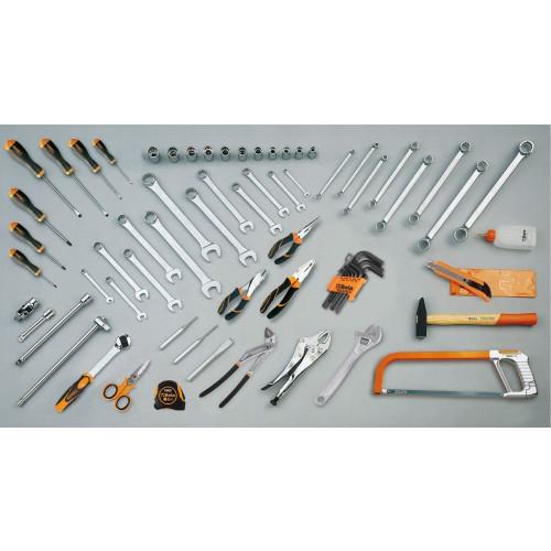 Zestaw 68 narzędzi do użytku uniwersalnego Beta 5915VU/AS