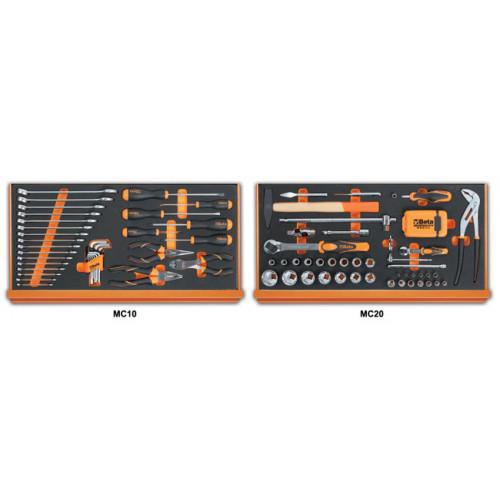 Zestaw 108 narzędzi w miękkich wkładach profilowanych Beta 5927VU/M