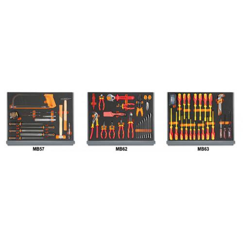 Zestaw 95 narzędzi do użytku w elektrotechnice Beta 5935ET/1MB