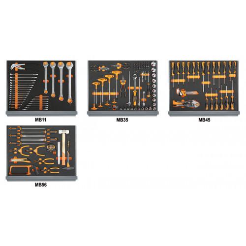 Zestaw 154 narzędzi do użytku uniwersalnego Beta 5935VU/1MB