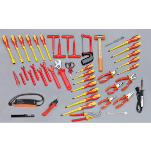 Zestaw 46 narzędzi do użytku w elektrotechnice Beta 5980/MQ
