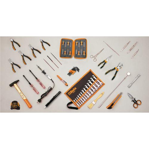Zestaw 57 narzędzi do użytku w elektronice/technice Beta 5980EL/A