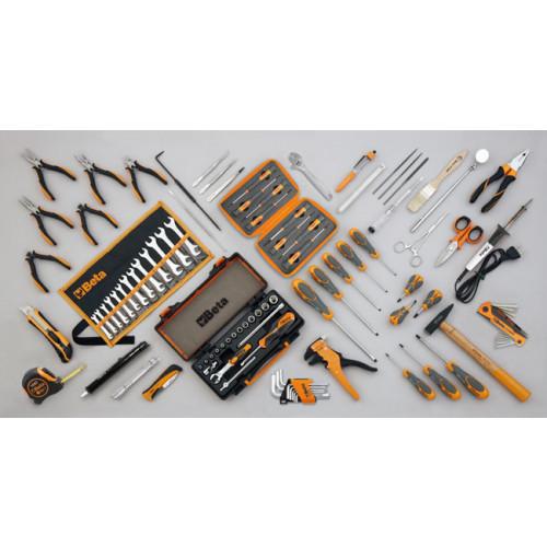 Zestaw 98 narzędzi do użytku w elektronice/technice Beta 5980EL/B