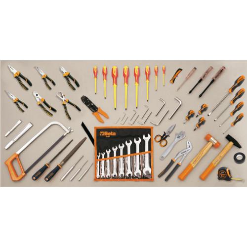 Zestaw 69 narzędzi do użytku w elektronice/technnice Beta 5980ET/A