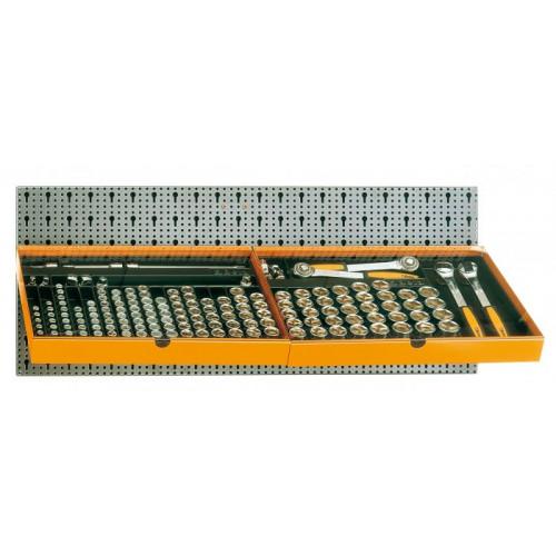 Zestaw 163 szt. narzędzi bez panelu typ M