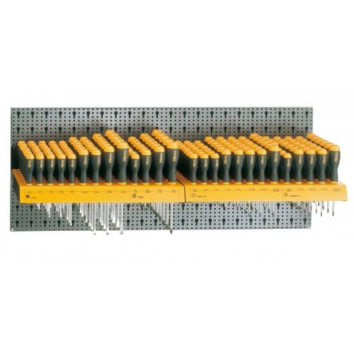 Zestaw 162 szt. narzędzi bez panelu typ M