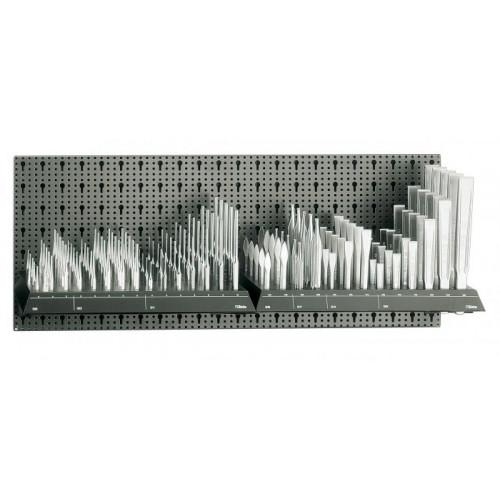 Zestaw 140 szt. narzędzi bez panelu typ M