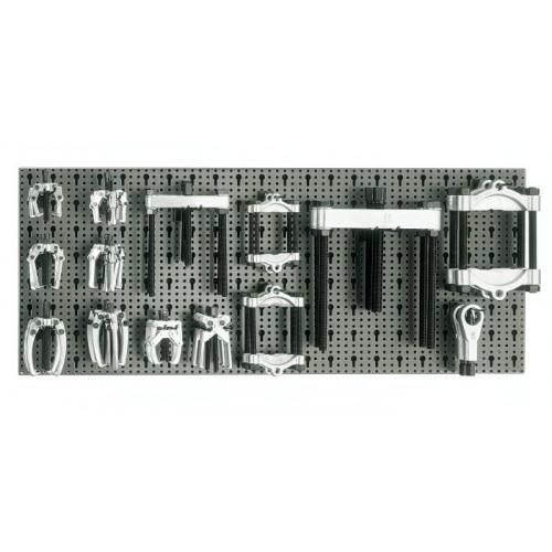 Zestaw 28 szt. narzędzi bez panelu typ M