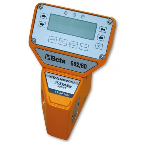 Cyfrowe mierniki momentu siły Dynatester z przetwornikami pomiarowymi pozwalającymi na pomiar w obu kierunkach Beta 682
